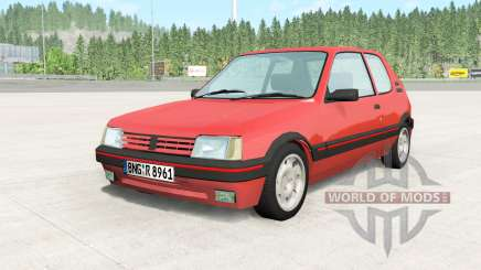 Peugeot 205 GTI pour BeamNG Drive