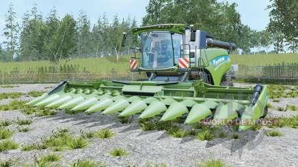 New Holland CR10.90 three cutters für Farming Simulator 2015