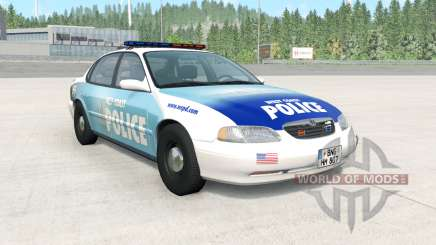 Ibishu Pessima 1996 West Coast Police v1.3.2 pour BeamNG Drive