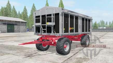 Kroger Agroliner HKD 302 wide tires pour Farming Simulator 2017