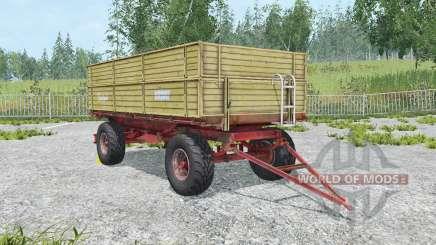 Krone Emsland ecru pour Farming Simulator 2015