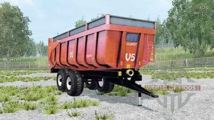 Gilibert 1800 Pro red orange für Farming Simulator 2015