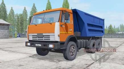 KamAZ-55111 remorque pour Farming Simulator 2017