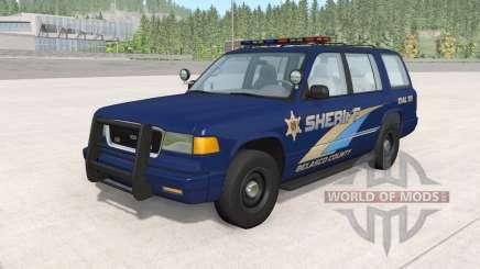 Gavril Roamer Belasco Country Sheriff v1.2 pour BeamNG Drive