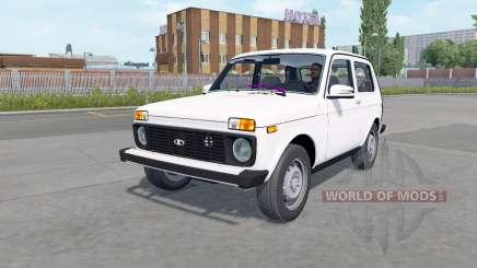 Lada 4x4 (21214) 2009 für Euro Truck Simulator 2