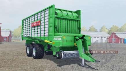 Bergmann Shuttle 900 K lime green für Farming Simulator 2013