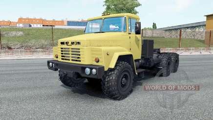 KrAZ-260V vos roues pour Euro Truck Simulator 2