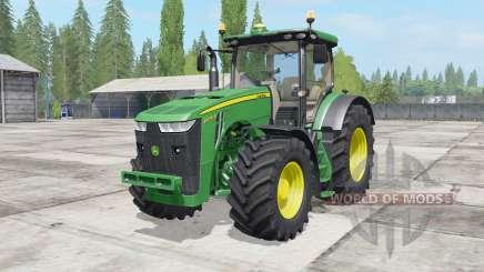 John Deere 8230-8370R pour Farming Simulator 2017