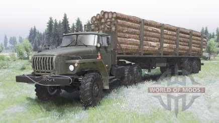 Ural-44202-0311-31 für Spin Tires