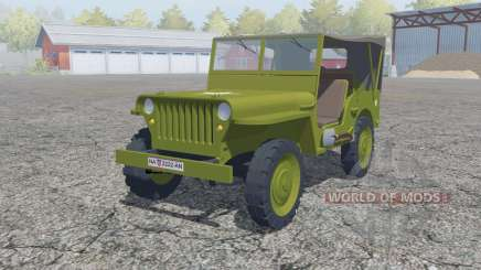 Willys MB 1942 für Farming Simulator 2013