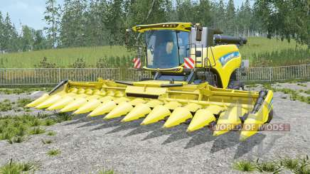 New Holland CR10.90 unloading speed increases für Farming Simulator 2015