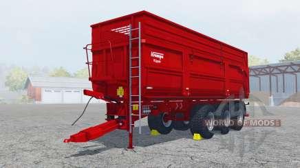 Krampe Big Body 900 animated hydraulic hose pour Farming Simulator 2013