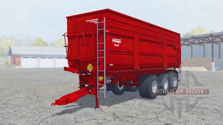 Krampe Big Body 900 S new texture silage pour Farming Simulator 2013
