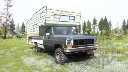 Chevrolet K10 Camper 1987 pour MudRunner