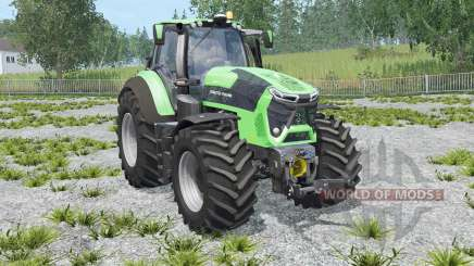 Deutz-Fahr 9340 TTV Agrotron with weight für Farming Simulator 2015