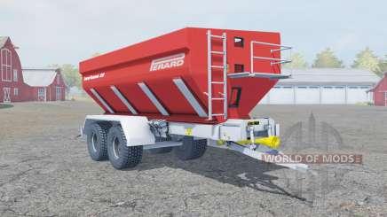 Perard Interbenne 25 tart orange pour Farming Simulator 2013