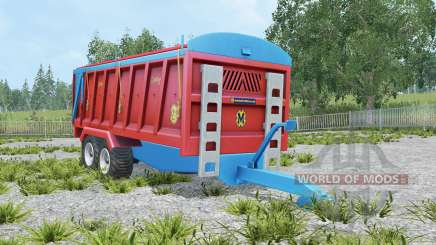 Marshall QM-16 amaranth red für Farming Simulator 2015