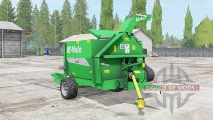 McHale C460 lime green pour Farming Simulator 2017