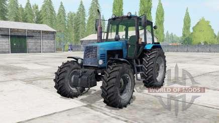 MTZ-1221 Biélorussie couleur bleu pour Farming Simulator 2017