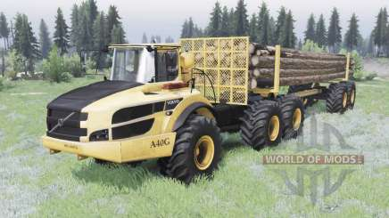 Volvo A40G v1.2 pour Spin Tires