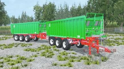 Kroger Agroliner TAW 30 convoy für Farming Simulator 2015