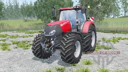 Case IH Optum 300 CVX warning signs pour Farming Simulator 2015