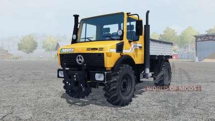 Mercedes-Benz Unimog U1450 (Br.427) tipper pour Farming Simulator 2013