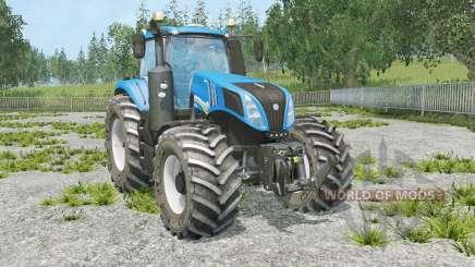 New Holland T8.320 full animation hydraulic für Farming Simulator 2015
