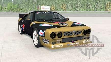 Lancia Rally Group B (SE037) pour BeamNG Drive