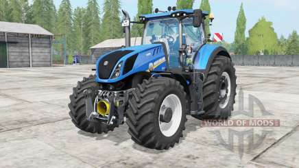 New Holland T7 warning signal pour Farming Simulator 2017