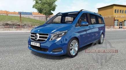 Mercedes-Benz V 250 (W447) 2018 für Euro Truck Simulator 2