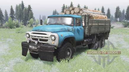 ZIL-130 6x6 offroad pour Spin Tires