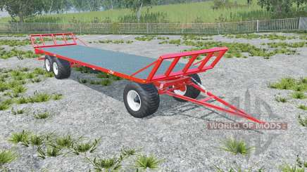 Fliegl DPW 180 longer drawbar für Farming Simulator 2015