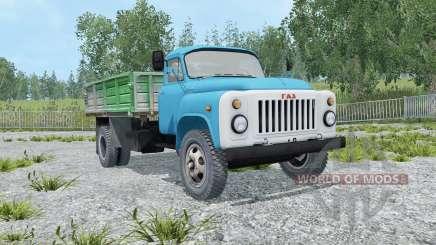 GAZ-SAZ-3507 l'ouverture des portes pour Farming Simulator 2015