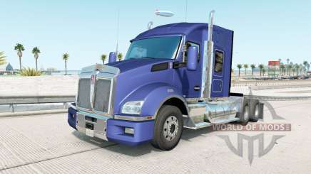 Kenworth T880 Mid Roof Sleeper v1.3 pour American Truck Simulator