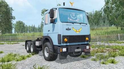 MAZ-6422 lumière de bleuet bleu couleur pour Farming Simulator 2015