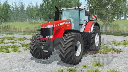 Massey Ferguson 8737 vivid red für Farming Simulator 2015