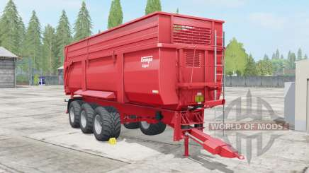 Krampe Big Body 900 S pour Farming Simulator 2017