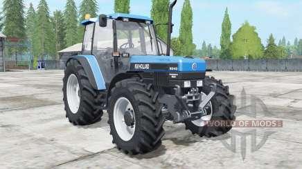 New Holland 8340 super power für Farming Simulator 2017