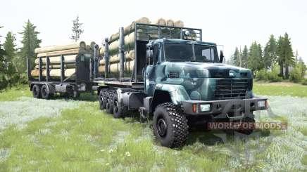 KrAZ-7140Н6 8x8 pour MudRunner