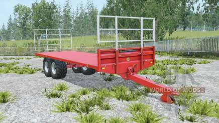 Marshall BC-25 coral red pour Farming Simulator 2015