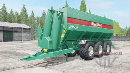Bergmann GTW 430 wheel color selection für Farming Simulator 2017