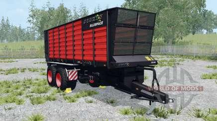 Joskin SiloSpace 22-45 Black Edition pour Farming Simulator 2015