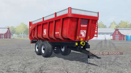 Gilibert 1800 Pro pigment red pour Farming Simulator 2013