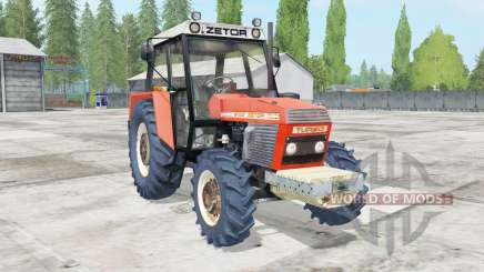 Zetor 8145 movable engine components für Farming Simulator 2017