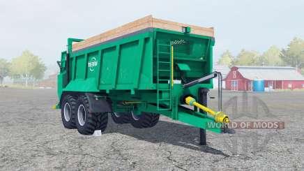 Tebbe HS 180 caribbean green für Farming Simulator 2013