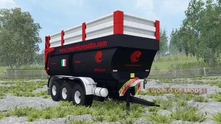 Crosetto CMR180 dynamic leaf springs pour Farming Simulator 2015