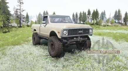 Chevrolet K10 1972 pour MudRunner