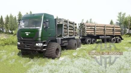 Le Yamal-6 6x6 2013 pour MudRunner