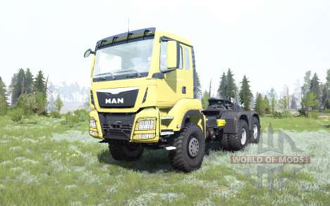 MAN TGS 33.480 pour Spintires MudRunner
